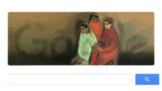 Google tribute to Amrita Sher-Gil with 'Three Girls' doodle