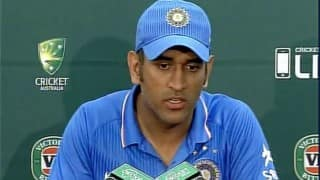 Mahendra Singh Dhoni: Don't have a settled bowling line-up