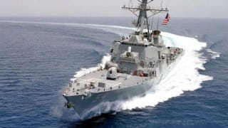 China strongly condemns US for sending warship near island