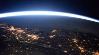 American astronaut clicks pics of massive blizzard from space