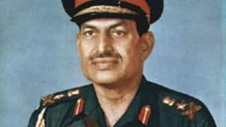 Former Indian Army Chief general Krishna Rao passes away at 93