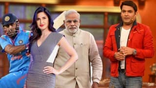Katrina Kaif, Narendra Modi, MS Dhoni: Wish 'Comedy Nights with Kapil' had 9 Celebs before going off-air!