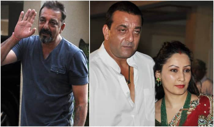 Image result for sanjay dutt with manyata