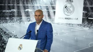 Zinedine Zidane vows to put 'heart and soul' into Real
