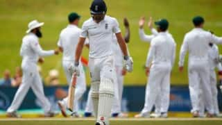 England crumbles to 101 all out to lose 4th Test in South Africa