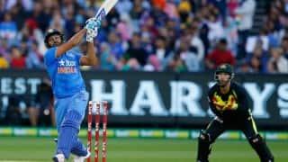 Ind vs Aus: India set Australia a target of 185 to win the second T20 international in Melbourne