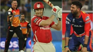 Indian Premier League 2016: Full list of players released by franchises ahead of IPL 9