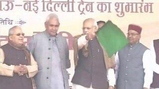 Narendra Modi flags off Mahanama Express from Varanasi, thanks Shinzo Abe for his contributions