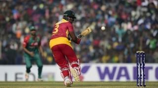 Hamilton Masakadza, Neville Madziva sparkle to help Zimbabwe level T20I series, beat Bangladesh by 18 runs