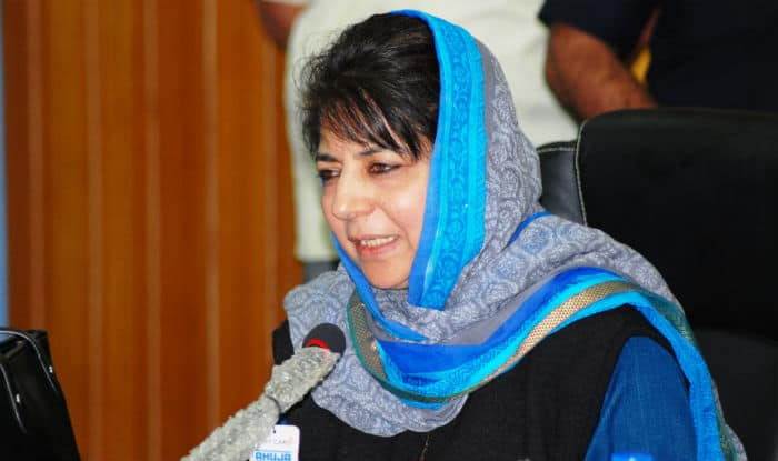 Image result for Chief Minister Mehbooba Mufti