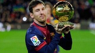 Lionel Messi pips Cristiano Ronaldo to win FIFA Ballon d'Or award for fifth time