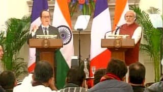 Francois Hollande in India: Non-financial MoU on Rafale jets purchase inked; Financial issues to be resolved soon