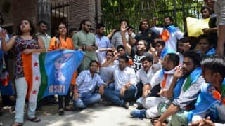 Ram Mandir row: ABVP, NSUI clash in Delhi University over seminar issue; Subramanian Swamy cries intolerance