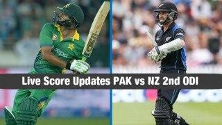 Match abandoned   Live Cricket Score Updates Pakistan vs New Zealand 2nd ODI 2016