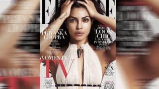 Priyanka Chopra looks breathtakingly hot on Elle US cover
