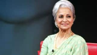 Veteran actress Waheeda Rehman honoured with special award