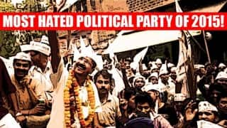 Narendra Modi-led BJP or Arvind Kejriwal's AAP: Goonj India Index 2015 reveals the most hated political party!