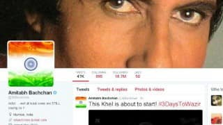Amitabh Bachchan puts Indian flag as profile picture after Pathankot attacks