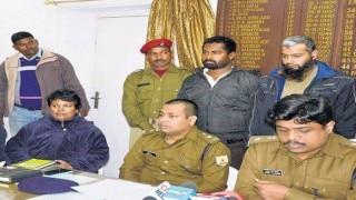 जमशेदपुर में अलकायदा के 2 आतंकी हथियार समेत गिरफ्तार