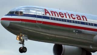 'American Airlines employee hits mom with baby stroller'