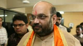 Amit Shah meets M.M. Joshi to seek his blessings