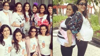 Salman Khan's sister Arpita Khan Sharma's baby shower: Inside pictures of mom-to-be and her girl gang!