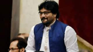 Babul Supriyo stopped by police, 'defies' prohibitory orders