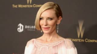 Cate Blanchett's coat in 'Carol' kept falling apart