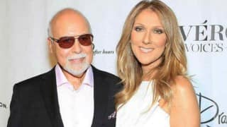 Celine Dion thankful her husband's suffering is over