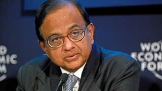 P Chidambaram blames PDP-BJP Government for Kashmir unrest