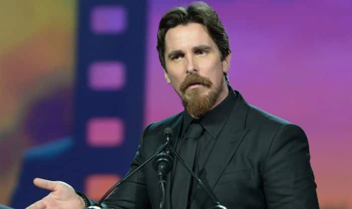 Christian Bale, Sean Penn and Leonardo Dicaprio were among the non ... Christian Bale