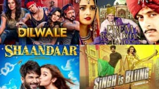 Dilwale, Prem Ratan Dhan Payo, Shaandaar, Singh Is Bling: Which is the most 'bakwaas' film of the year?
