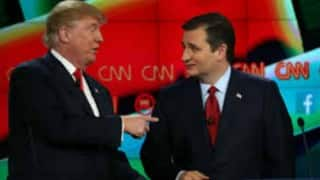 Donald Trump, Ted Cruz clash over birther issue in public domain