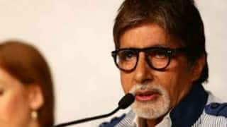 Amitabh Bachchan nostalgic while playing football with kids