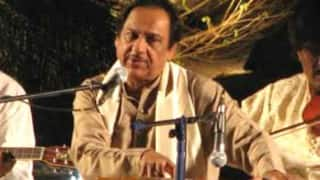 Ghulam Ali and his son to perform in city