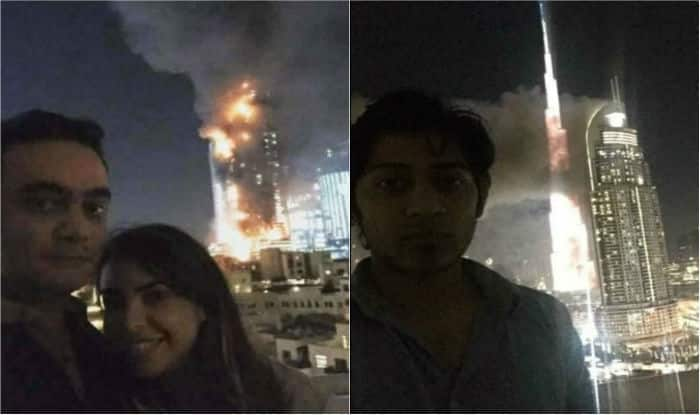 Twitterati slams couple for taking selfie near dubai 39 s for Best hotels in dubai for couples