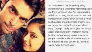 Kaisi Yeh Yaariaan actor Parth Samthaan WhatsApp controversy: Niti Taylor makes indirect Twitter statement towards her co-actor?