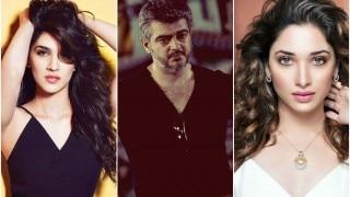 Kriti Sanon & Tamannah Bhatia to romance Ajith in Thala 57?