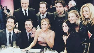 Cast of 'Friends', 'Big Bang Theory' unite for photograph