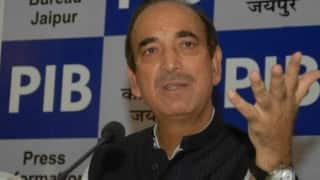 Congress has no intention of aligning with PDP to form government in Jammu and Kashmir: Ghulam Nabi Azad