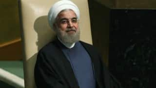 Hassan Rouhani vows to fight terrorism