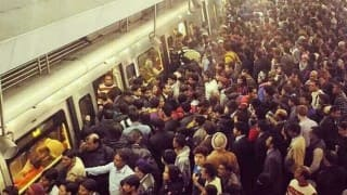 Odd Even formula failed? Crowded pictures of Rajiv Chowk metro station go viral; AAP government terms images 'false'