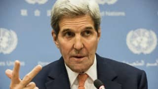 USA: John Kerry breaks record for miles traveled by Secretary of State