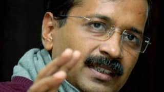 Arvind Kejriwal dares Hindi news channel to give up journalism and join politics