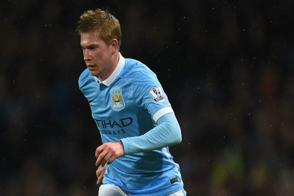 official photos 865fa 02a31 Manchester City hope injured de Kevin de Bruyne won't be out ...