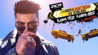 Khatron Ke Khiladi 7: Arjun Kapoor the cool host makes contestants sweat with the stunts!