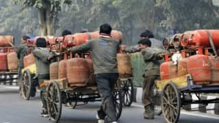 Subsidized LPG rate hiked by Rs 2 per cylinder; jet fuel up by 7.3 per cent