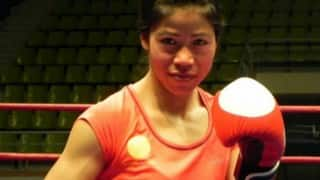 Mary Kom, Sarita Devi take part in Run for Northeast of 12th SAG