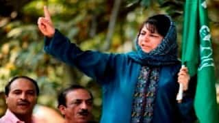 Mehbooba Mufti chairs high-level PDP meet; decision likely to be taken on alliance with BJP