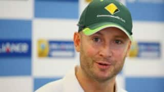 Michael Clarke comes back but only as mistake on scoreboard